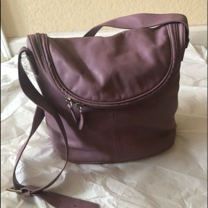 Maxx New York Leather Handbag